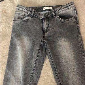 Gray Levi Jeans